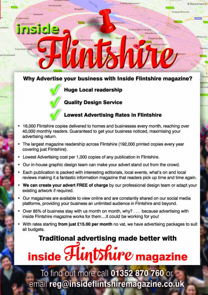 Why Advertiser Your Business With Inside Flintshire Magazine's