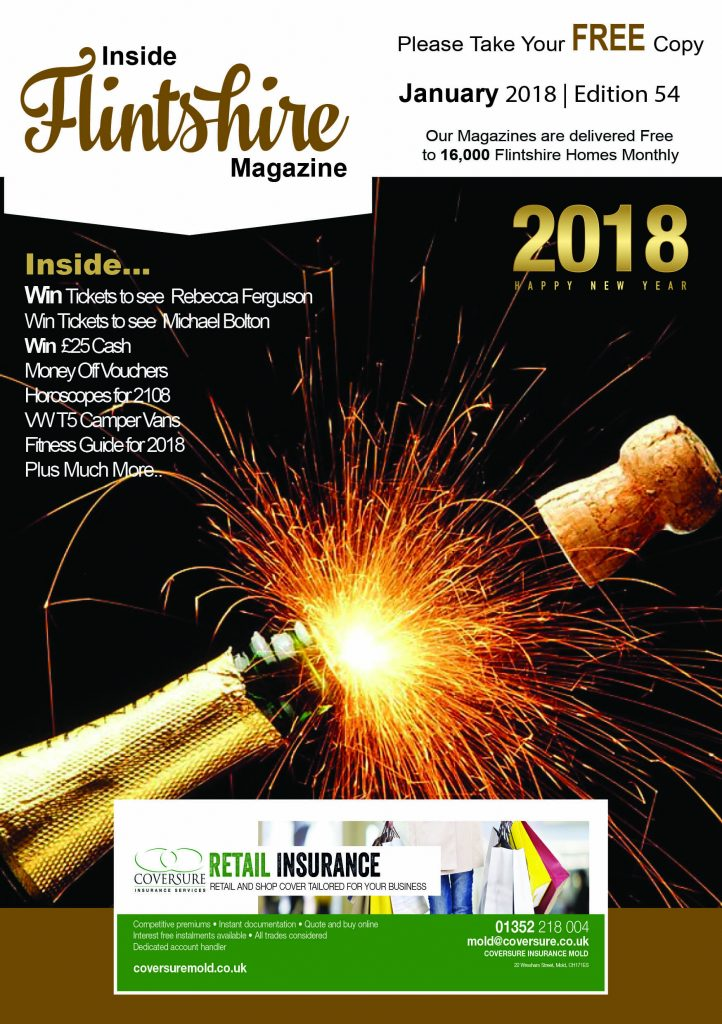 Inside Flintshire magazine January 2018