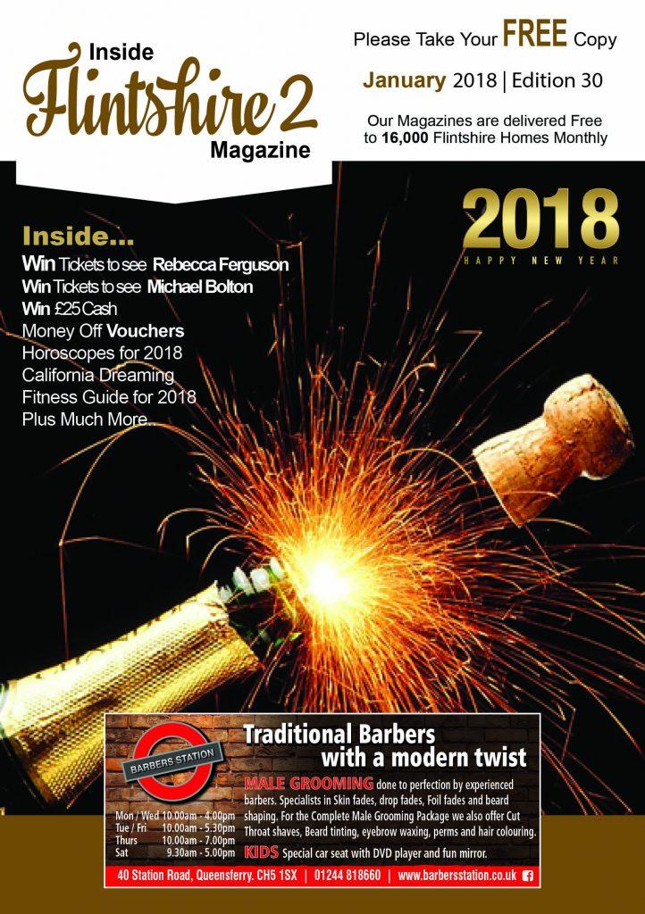 Inside Flintshire 2 magazine January 2018 issue