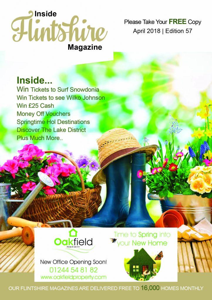 Inside Flintshire Magazine April 2018