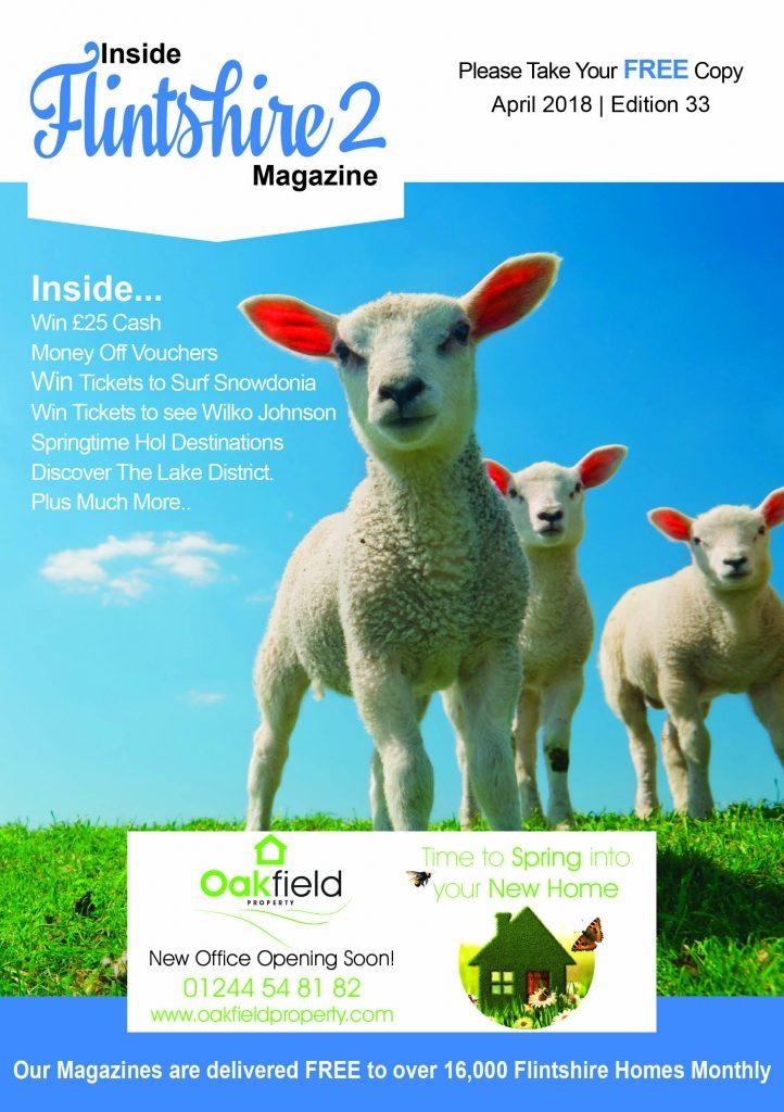 Inside Flintshire 2 Magazine April 2018