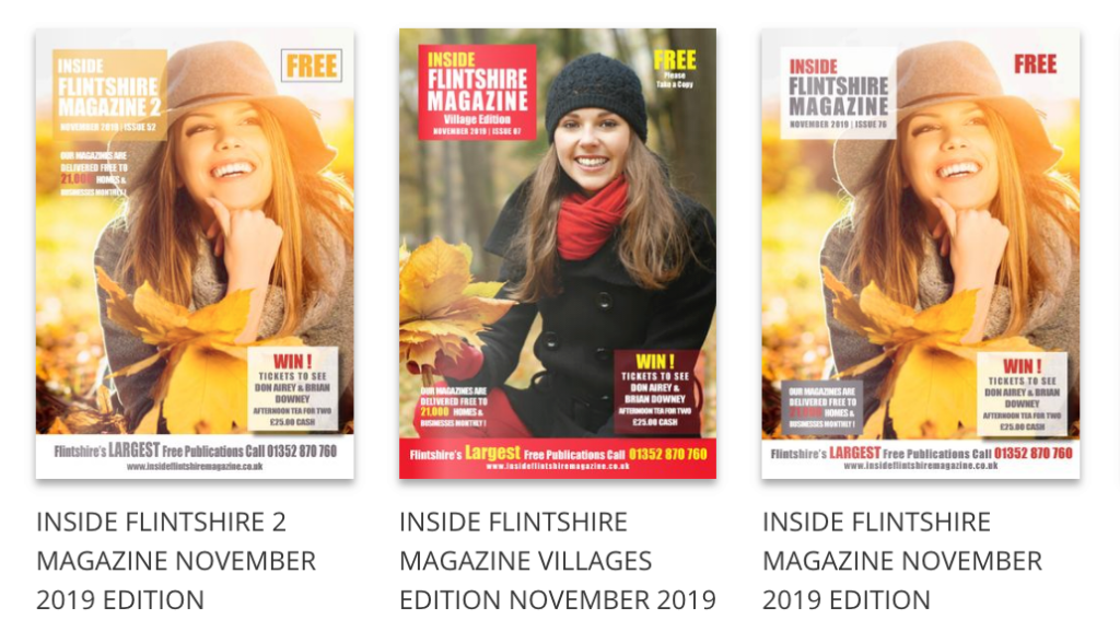 Inside Flintshire magazines November 2019